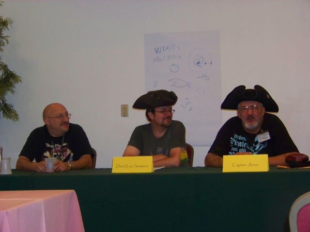 Michael D'Ambrosio, David Lee Summers, and Captain Aries