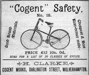 Safety Bicycle 1887