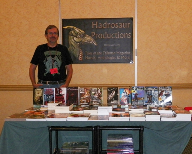 Bubonicon Dealer's Table