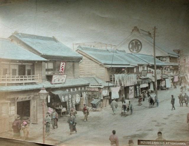 Yokohama_Street_Scene_c1880