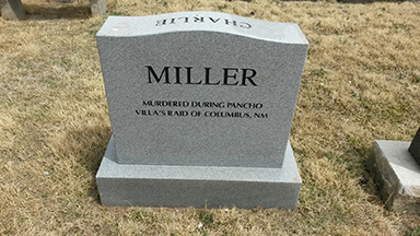 Charlie Miller Tombstone