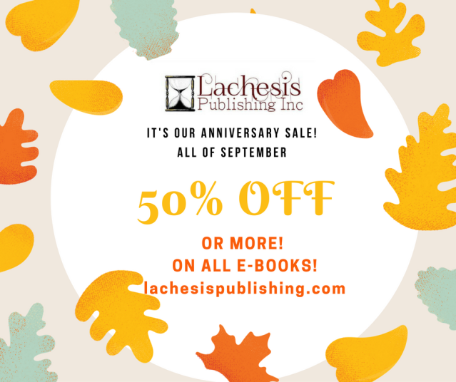 LACHESIS PUBLISHING SALE POSTCARD 2